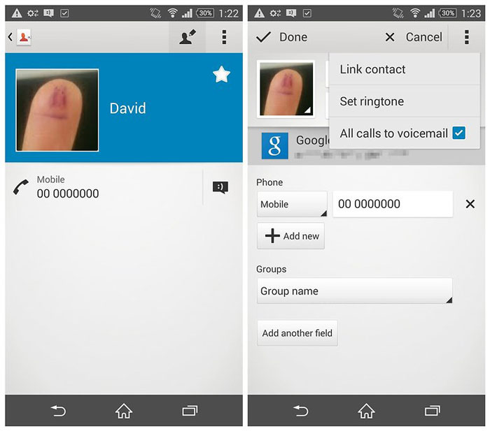 AndroidPIT-Xperia-Z3-contact-all-calls-to-voicemail